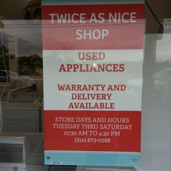 Twice As Nice Shop Appliances 7319 S Broadway Patch St Louis