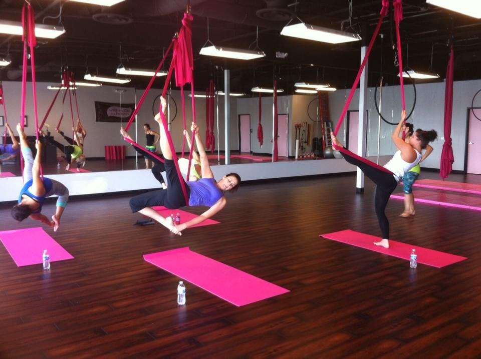 photo of polecats aerial fitness   las vegas nv united states  aerial hammock aerial hammock yoga class   yelp  rh   yelp