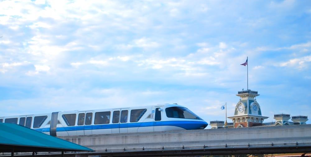 Disney's Epcot Park Monorail Station: Epcot Ctr, Orlando, FL