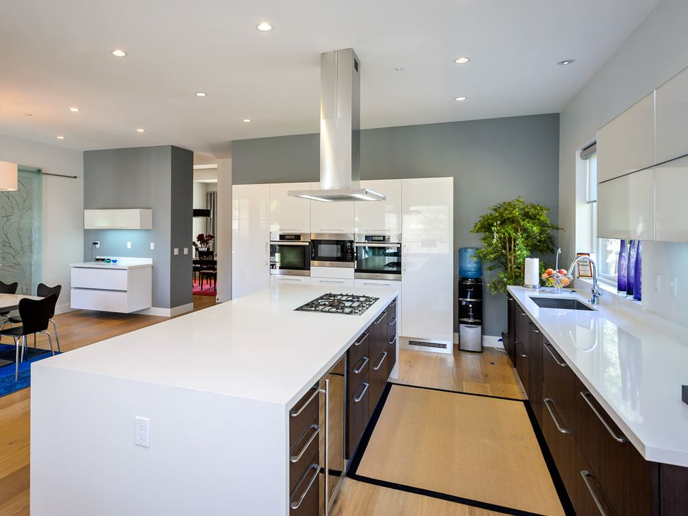 Photo Of Bay Stoneworks San Jose Ca United States White Quartz Countertop