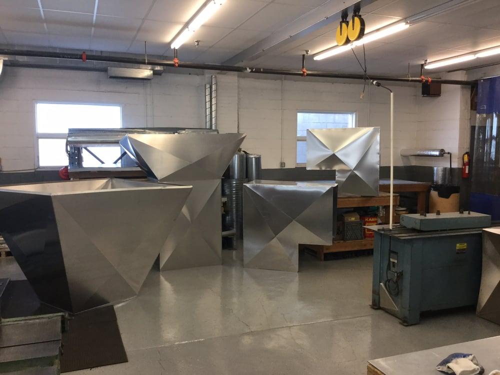 Aluminum duct fabrication, Montville school district N J  - Yelp
