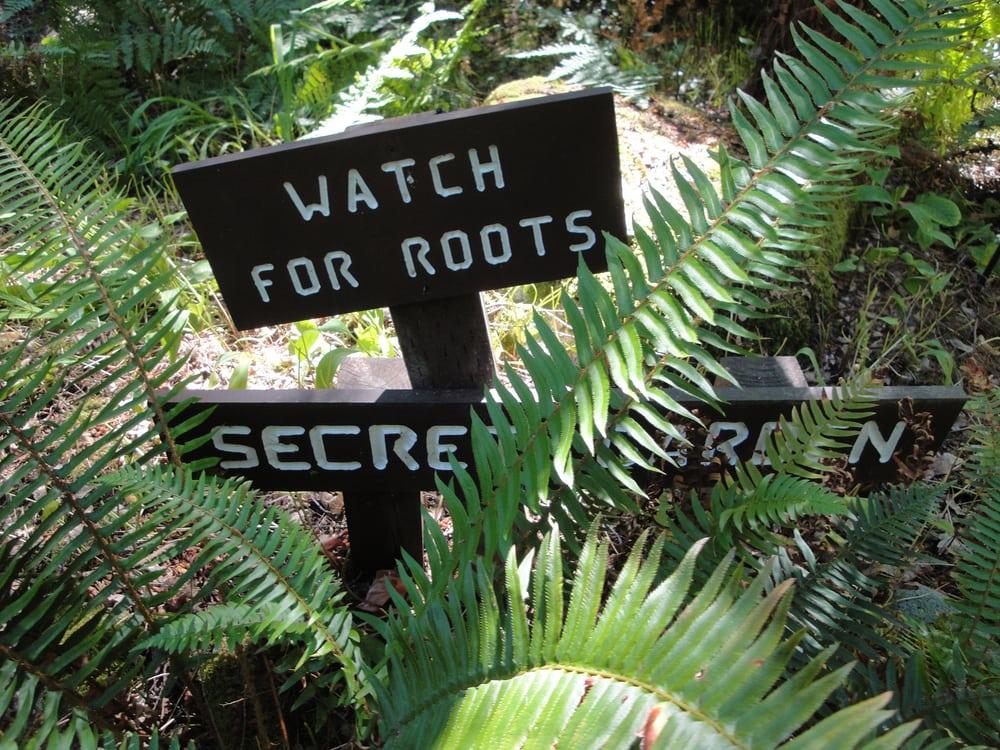 The Secret Garden wasn\'t very secret. - Yelp
