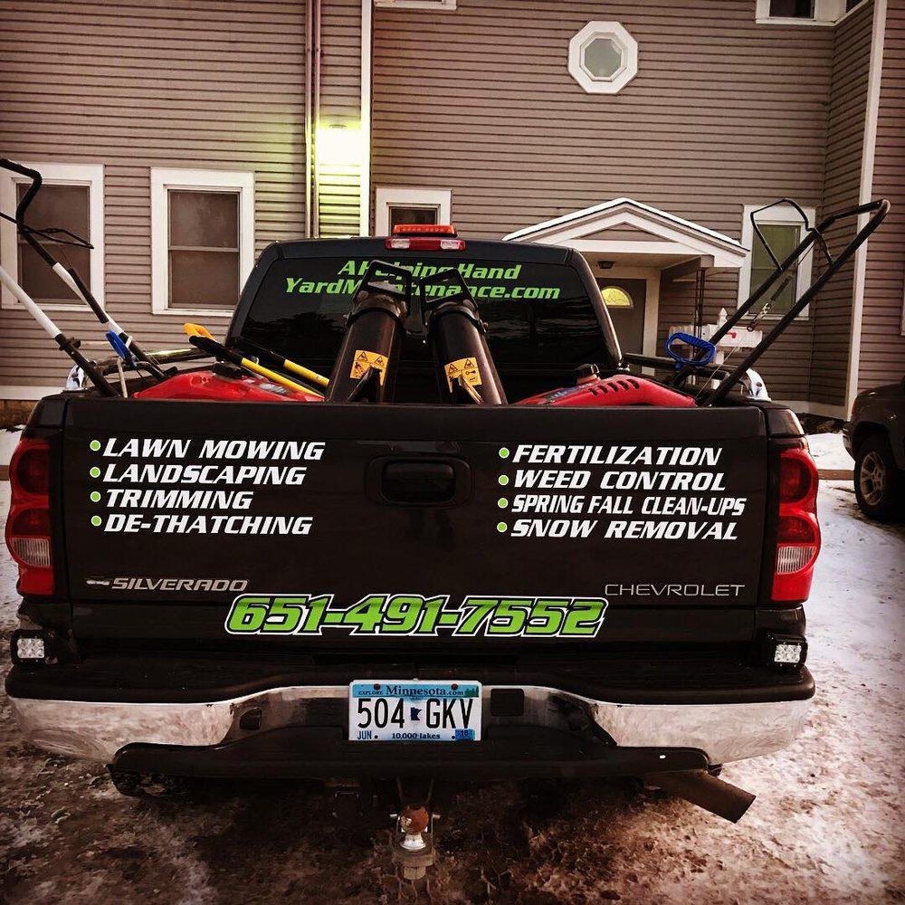A Helping Hand Yard Maintenance: Stillwater, MN