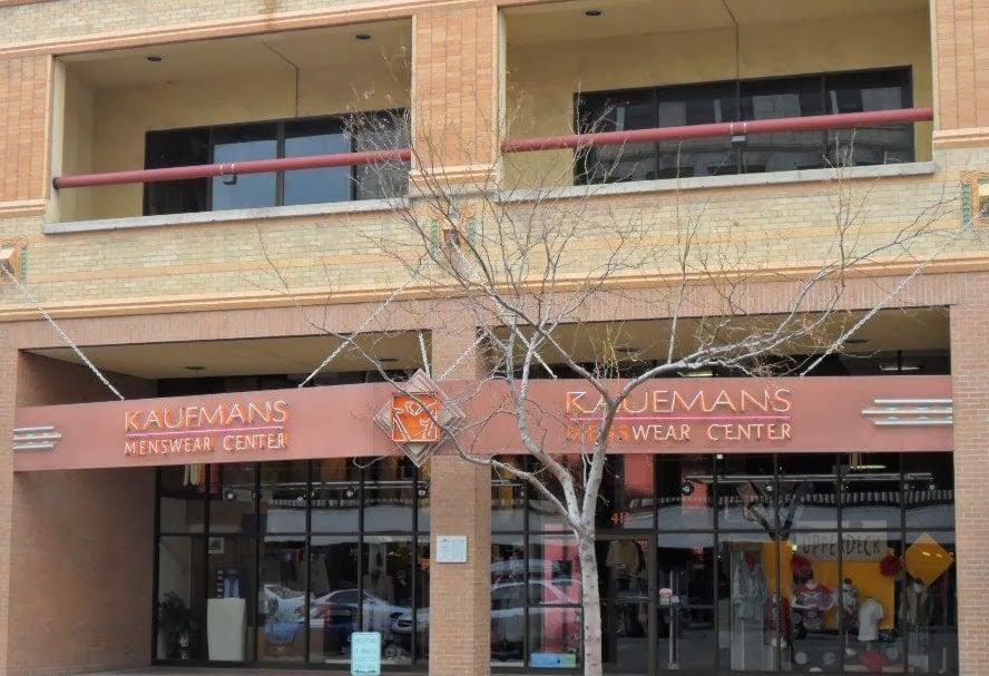 Kaufmans Menswear Centre: 411 Central Ave, Great Falls, MT