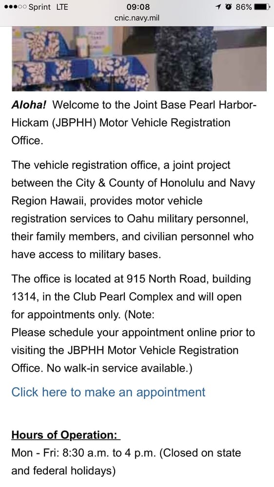 Satellite Vehicle Registration Office Departments Of