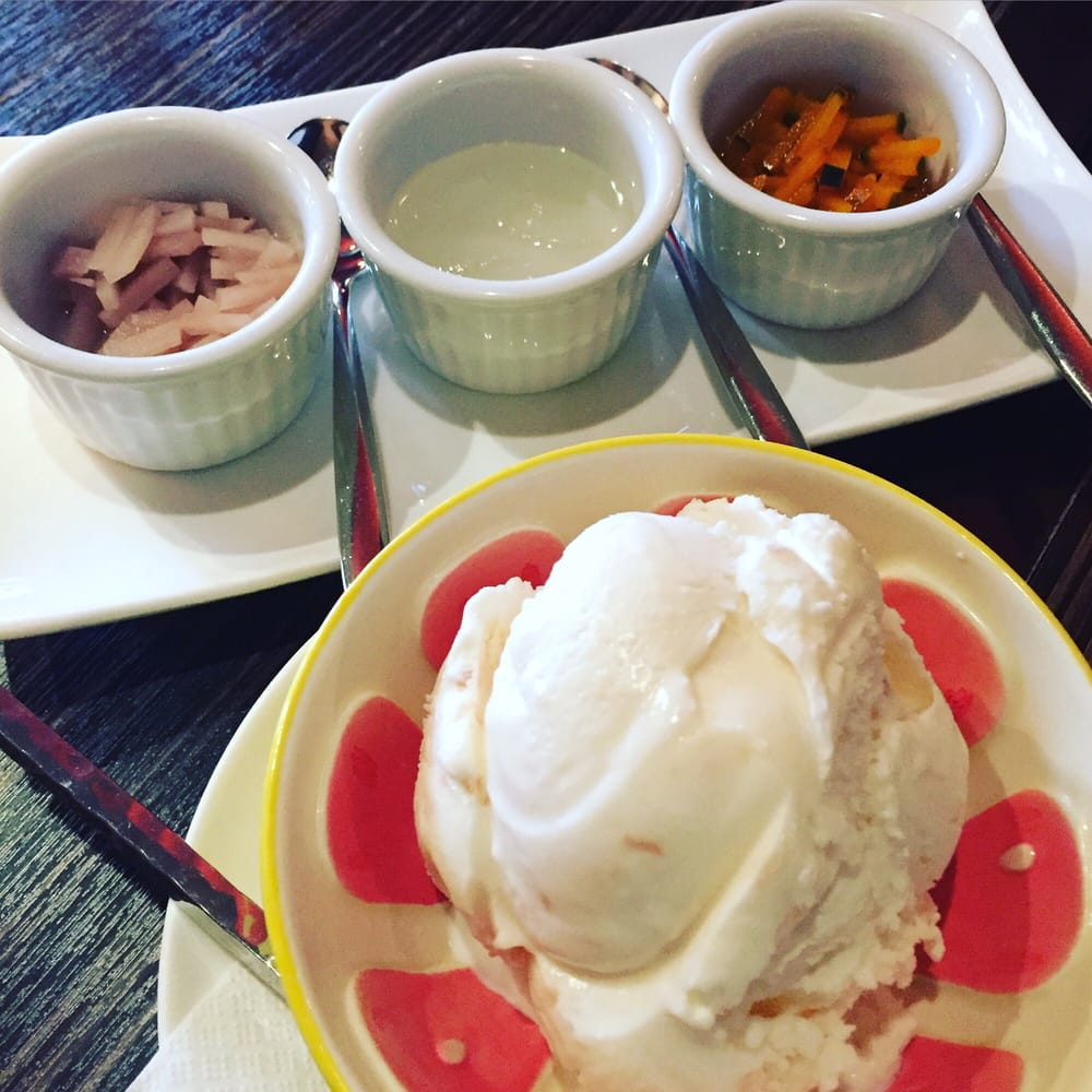 Coconut Ice Creams With Diy Toppings Taro Palm Seeds