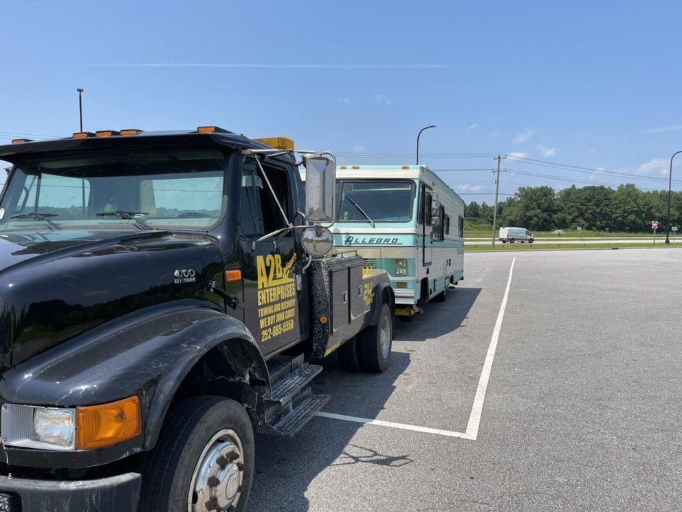 A2B Enterprises Towing: 190 Koonce Rd A, Cove City, NC