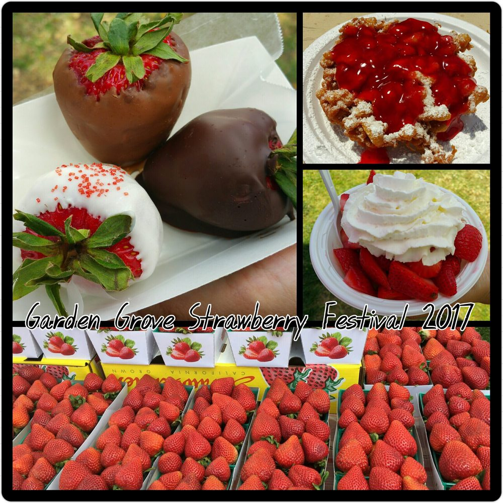 Strawberries galore yelp for Garden grove strawberry festival 2017