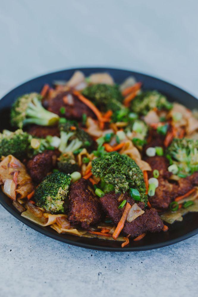 Food from Vida Vegan Eatery