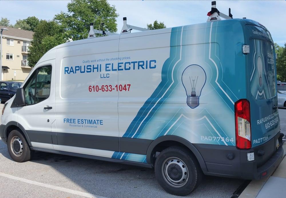 Rapushi Electric: 334 Friendship Dr, Paoli, PA
