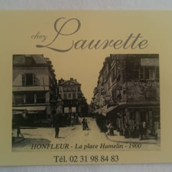 Restaurant Chez Laurette A Honfleur