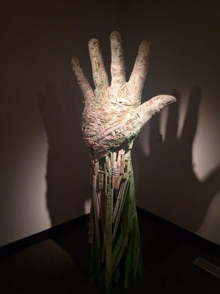 Photo of Colorado Springs Fine Arts Center - Colorado Springs, CO, United  States. - Hand Sculpture From Compass - Andrew Ramiro Tirado - Reclaimed