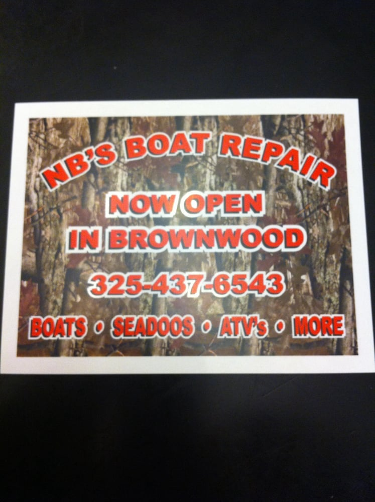NB's Boat Repair: 5817 Hwy 279, Brownwood, TX