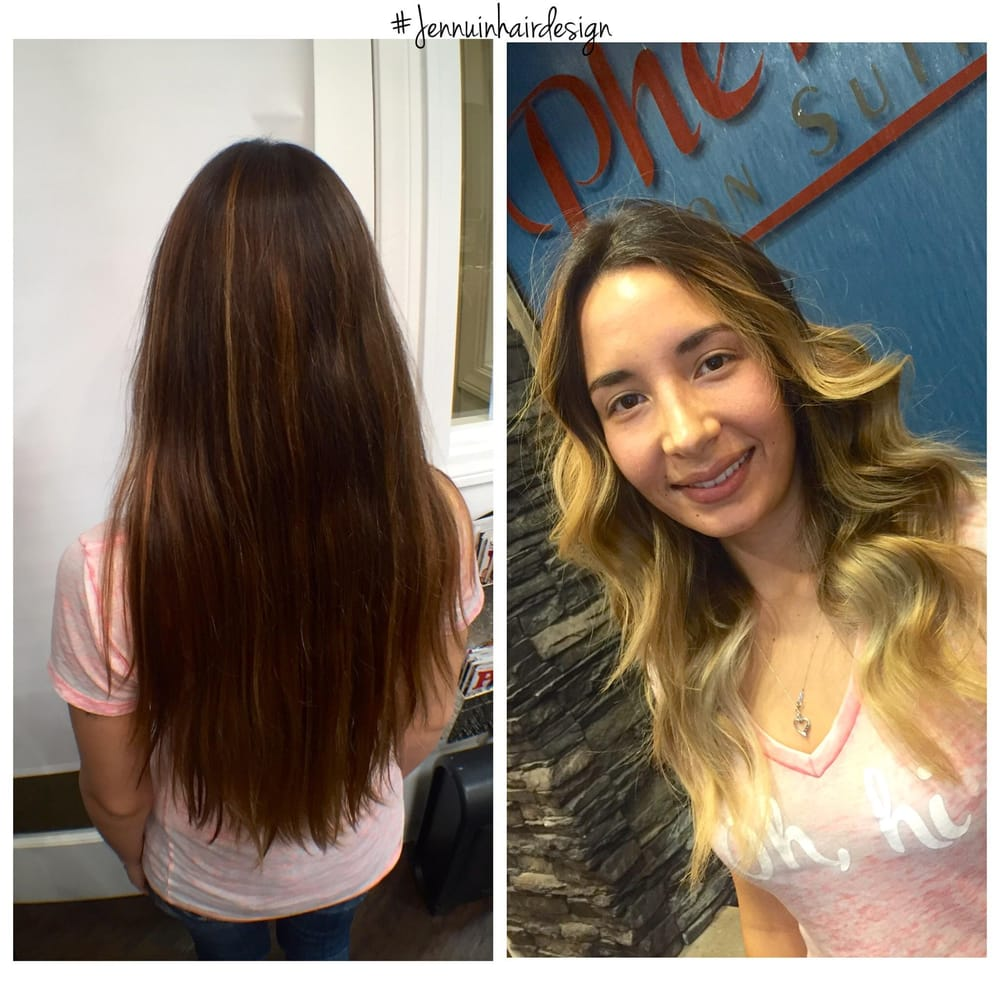 Before And After In Desperate Need Of A Haircut I Love Jenns