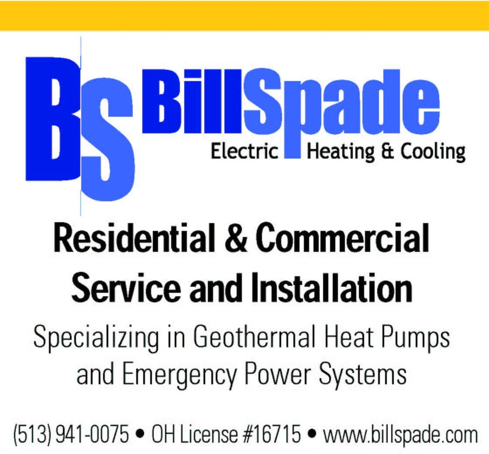 Bill Spade Electric, Heating & Cooling: 7181 Wesselman Rd, Cleves, OH