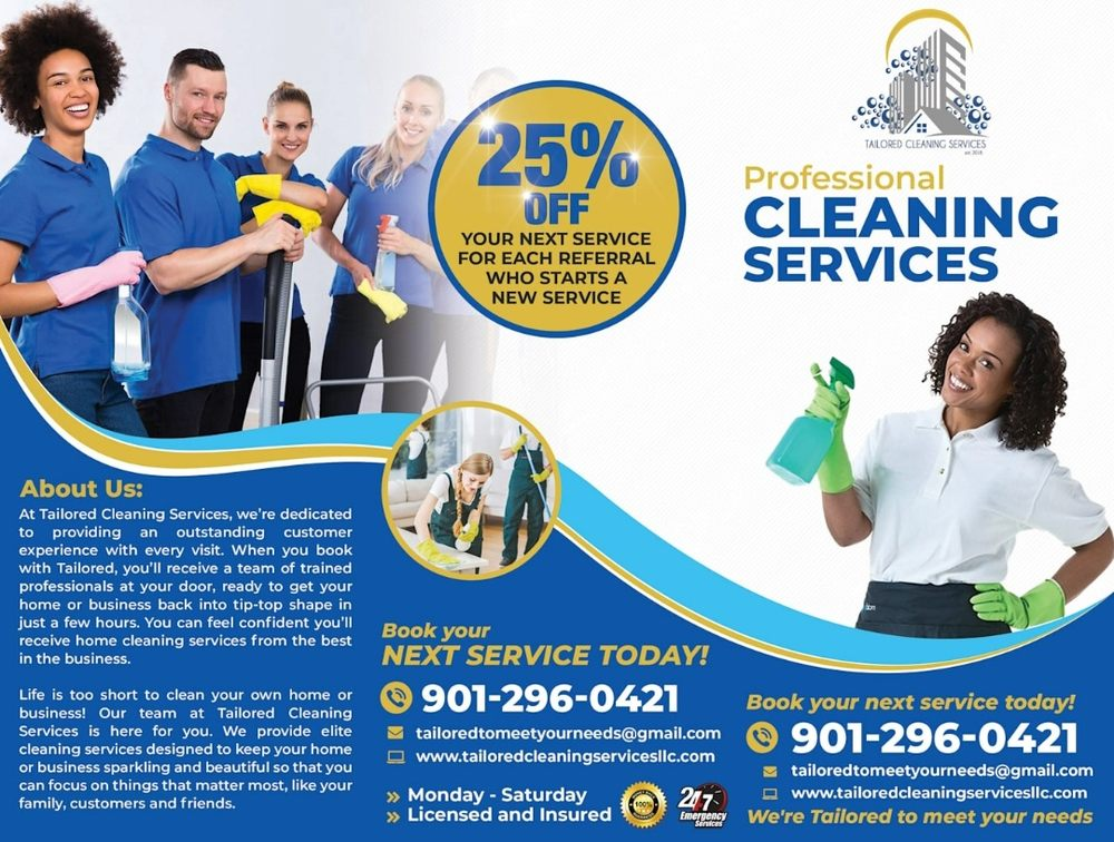 Tailored Cleaning Services: Horn Lake, MS