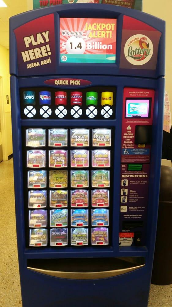 Lottery Vending Machine Powerball Is At 1 4 Billion