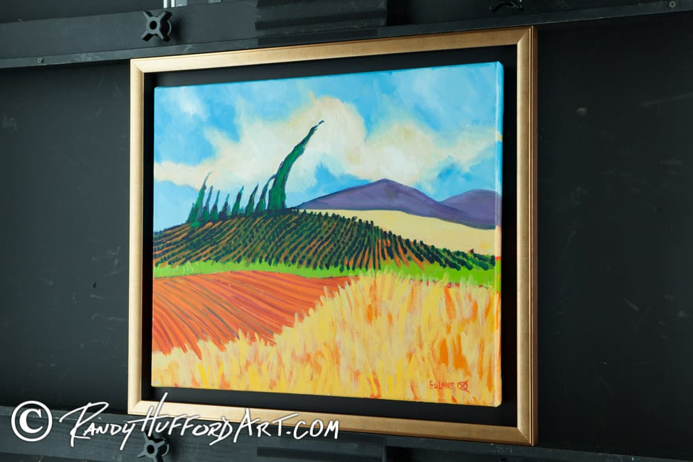 Example of our Fine Art and picture framing for artist Ed lane. - Yelp