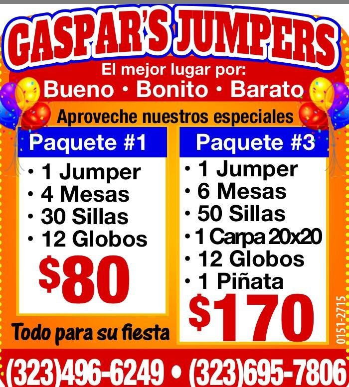Gaspar's jumpers: Los Angeles, CA