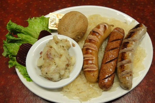 Photo of The Soup Cellar - Leavenworth WA United States. Sausage S&ler Plate : soup cellar leavenworth wa  - Aeropaca.Org