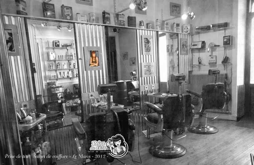 Prise de t te coiffeurs salons de coiffure 14 rue for Salon de coiffure le mans