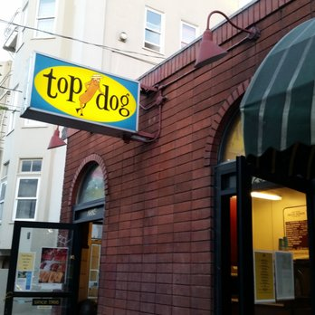 Photo Of Top Dog Berkeley Ca United States Sign Out Front