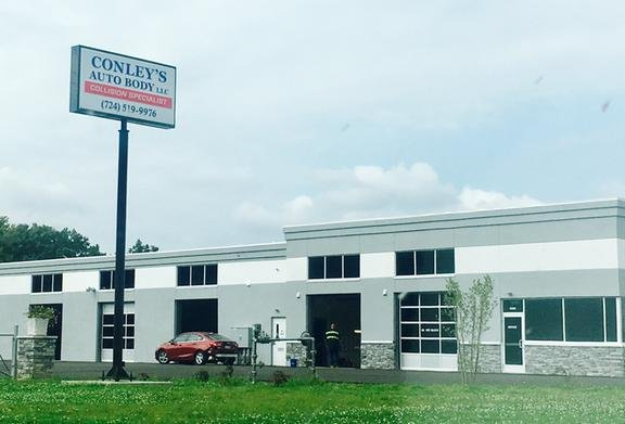 Conley's Auto Body: 5800 William Penn Hwy, Export, PA