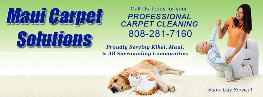 Maui Carpet Solutions - Carpet Cleaning - 782 Mahealani Pl ...