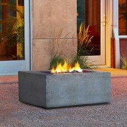 Photo Of Patioworld   Thousand Oaks, CA, United States. Faux Concrete Fire