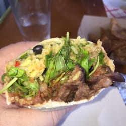 ... - Norfolk, VA, United States. Grilled Marinated Hanger Steak Burrito
