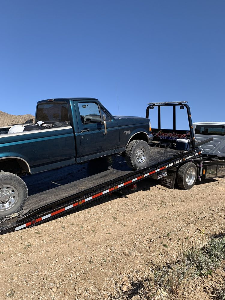 Towing business in Barstow, CA