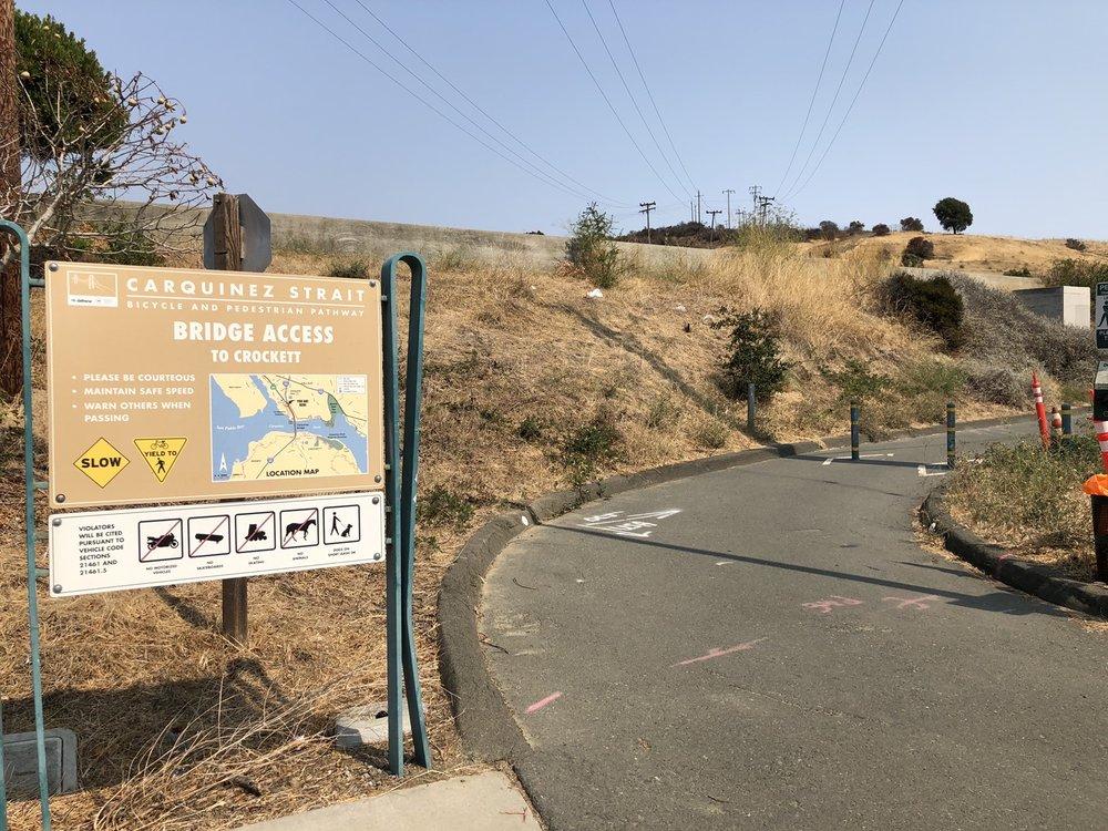 Al Zampa Memorial Bridge: Crockett, CA