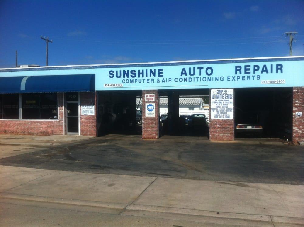 sunshine auto repair motor mechanics repairers 1010