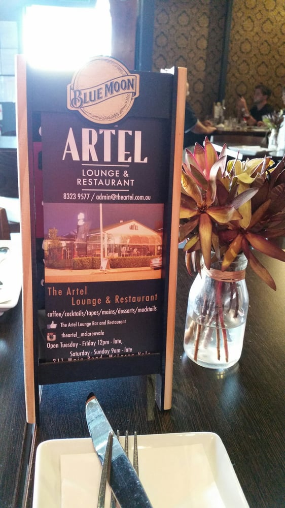 The Artel Lounge Bar And Restaurant 14 Reviews