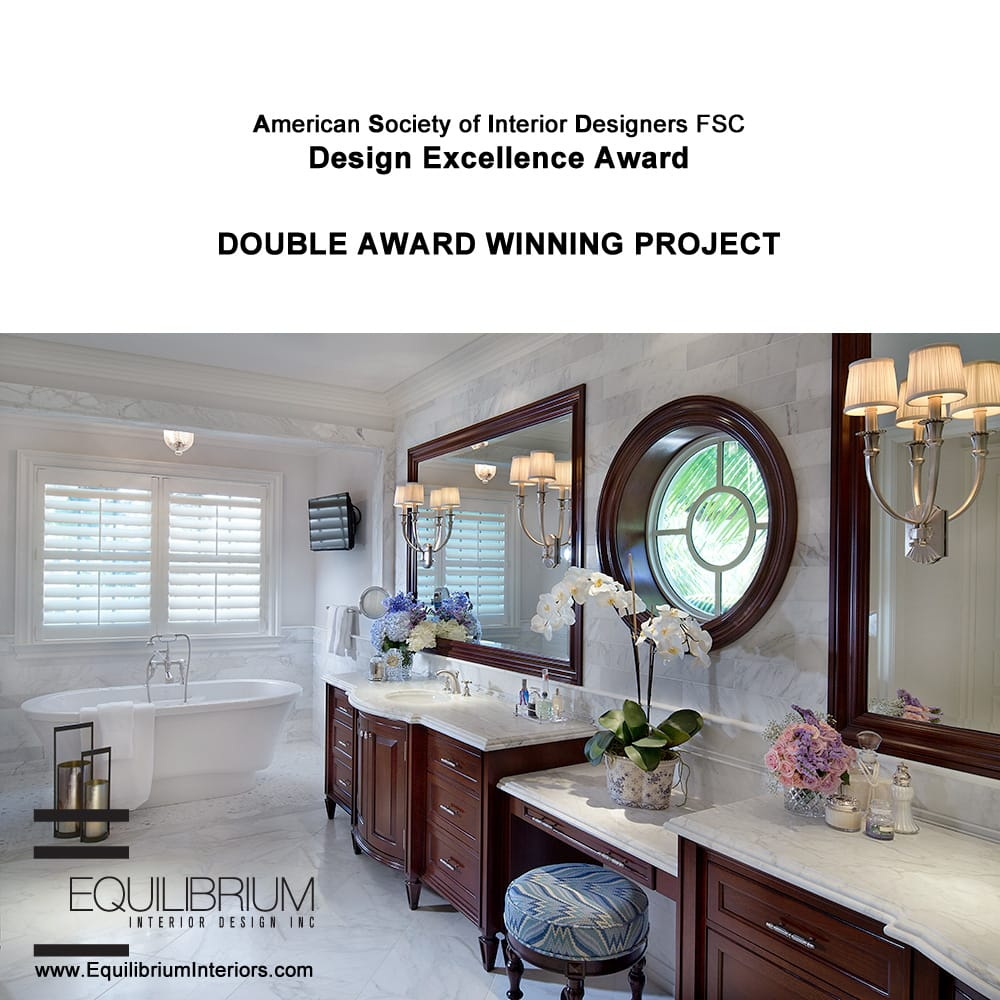 Double award winning project in british colonial style for Interior design awards uk