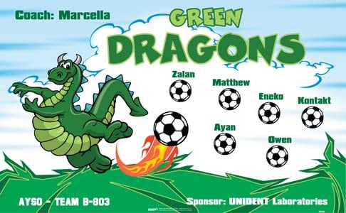 Green Dragons Banners Offline Banners
