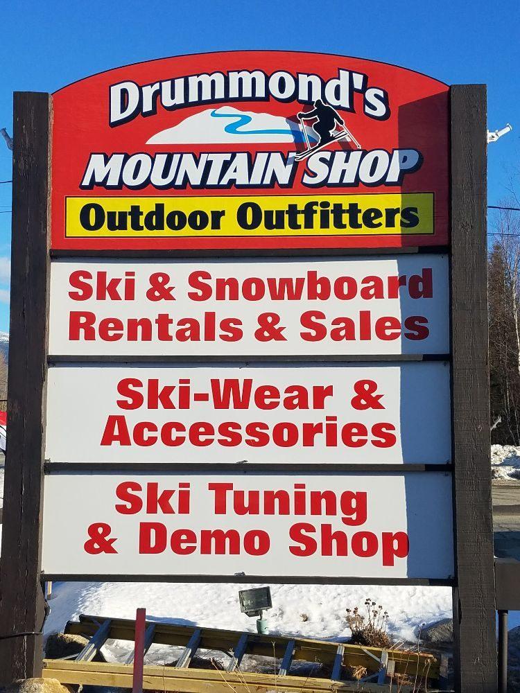 Drummonds Mountain Shop: Rt 302, Bretton Woods, NH