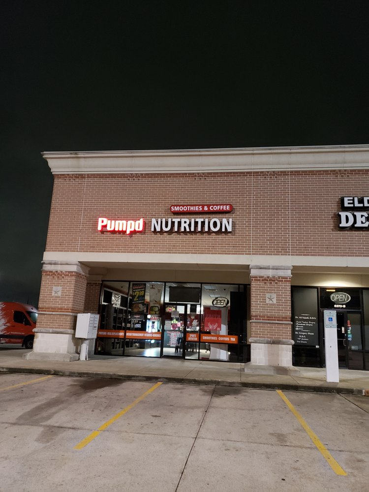 Pumpd Nutrition: 6370 N Eldridge Pkwy, Houston, TX