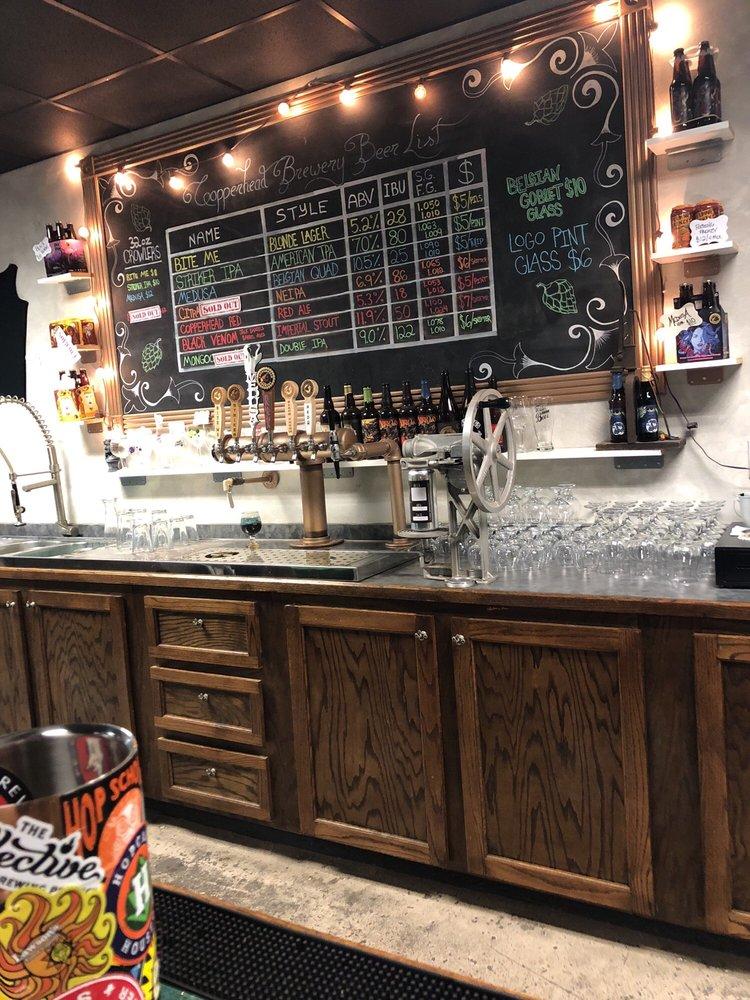 Copperhead Brewery: 822 N Frazier St, Conroe, TX