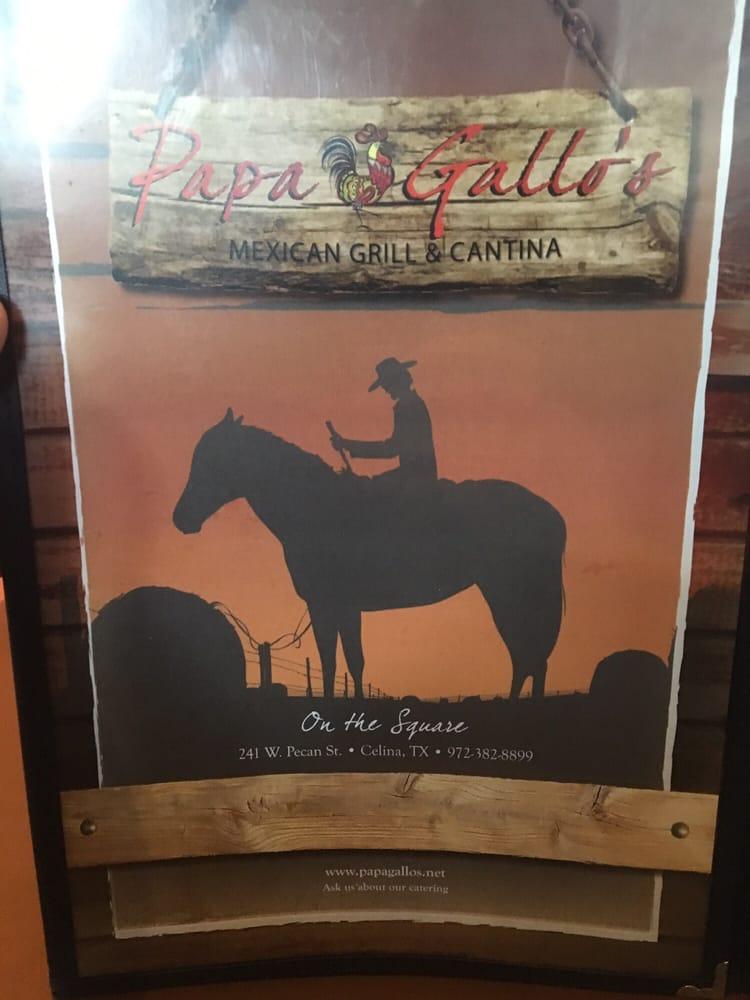 Papa Gallo's Mexican Grill - Celina, TX, United States