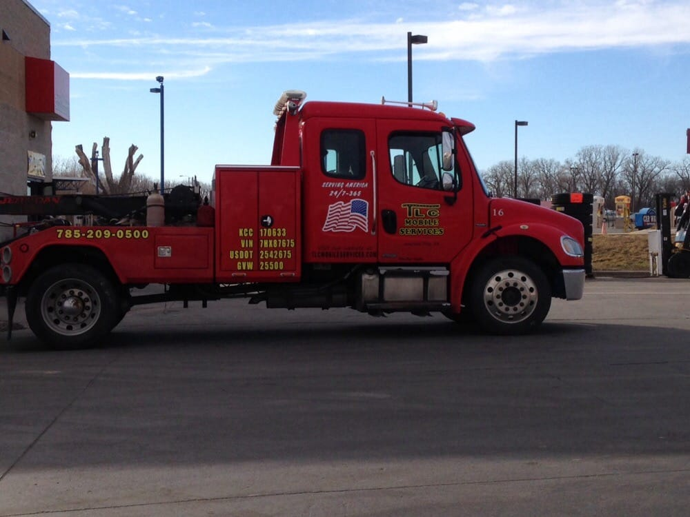 TLC Mobile Services & Towing: Junction City, KS