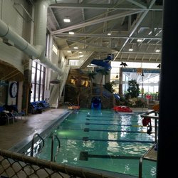 indoor pool with waterslide. Unique Indoor Photo Of Tropics Indoor Waterpark  Shoreview MN United States Waterslide With Pool