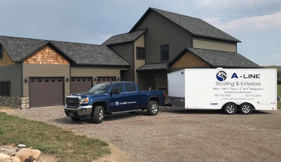 A-Line Roofing & Exteriors: 554 E Brundage, Sheridan, WY