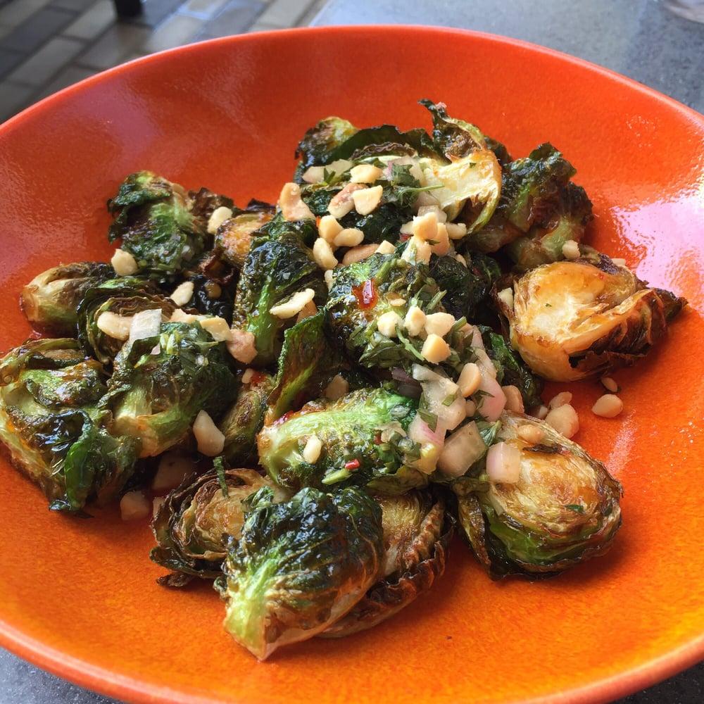 Lyfe Kitchen Yelp: Crispy Glazed Brussels Sprouts