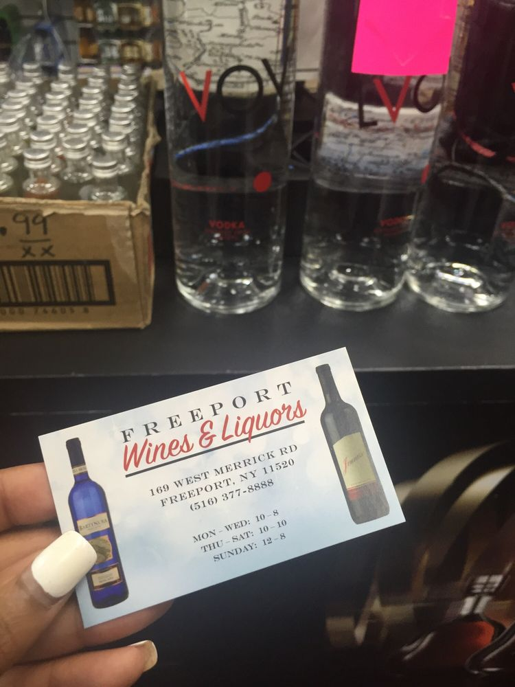 Freeport Wines & Liquors: 150 Atlantic Ave, Freeport, NY