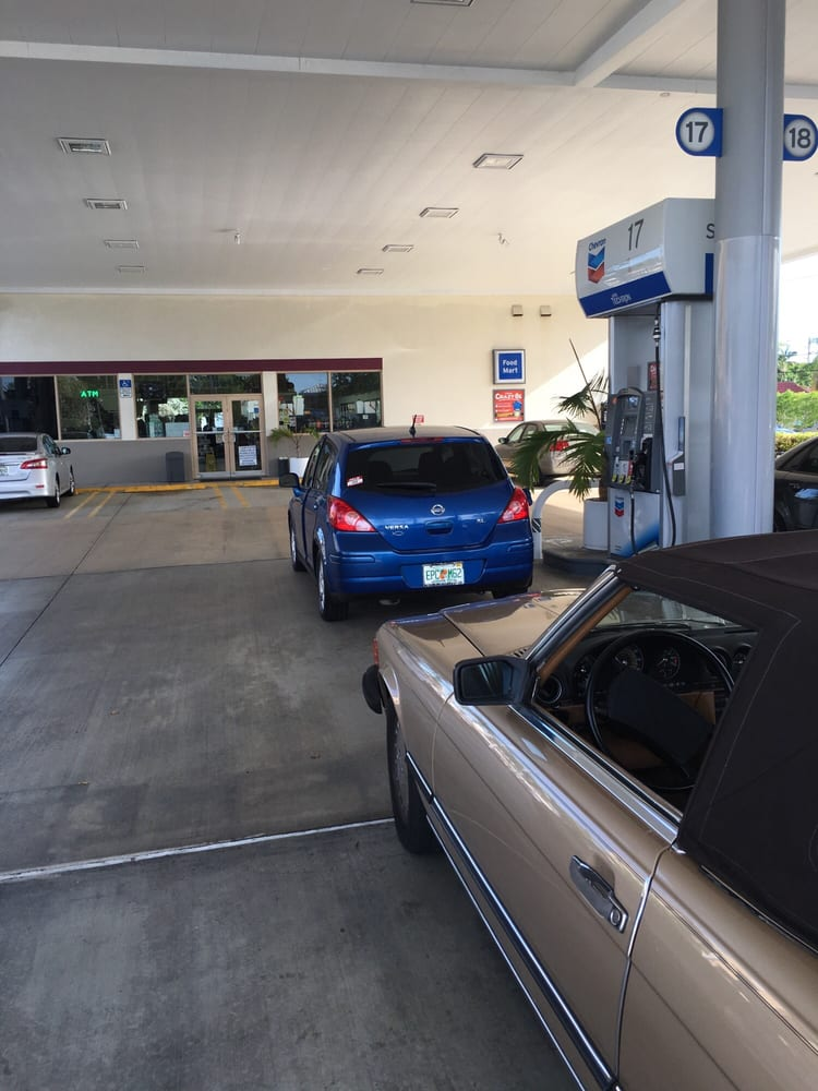Chevron: 8645 Sunset Dr, Miami, FL