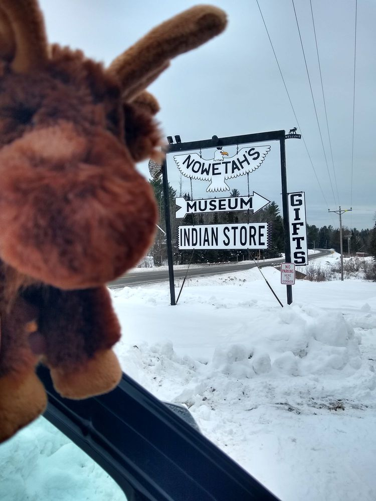 Nowetah's American Indian Museum & Gift Store: 2 Colegrove Rd, New Portland, ME