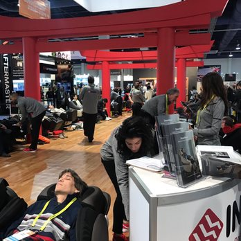 Captivating Photo Of Inada Massage Chairs   Boulder, CO, United States. Booth At CES