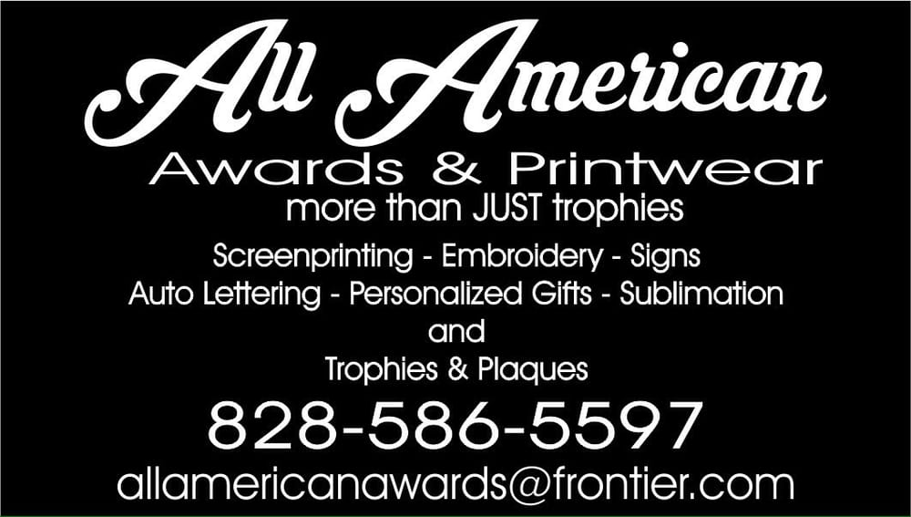 All American Awards: 899 W Haywood Rd, Dillsboro, NC