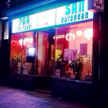Poa San Chinese Restaurant Glasgow Menu